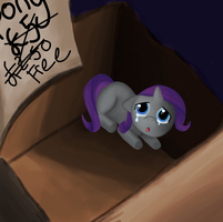 Filly Rarity in a Box by Eumy