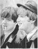 Paul and John by Macca4ever