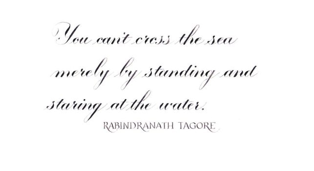 Rabindarath Tagore - Cross the Sea by MShades