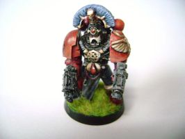 Blood Angels Model by OEVRLORD