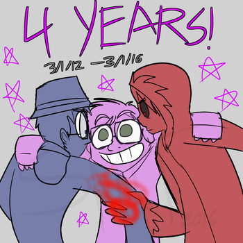 GG- 4 Years by Catmaniac8x