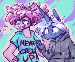 cool shirt can I touch it by ArtFlicker