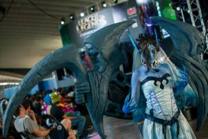 Morgana ghost bride cosplay in LCS Tenerife by NereaGOTHIC