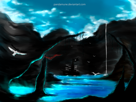 The sea cave by pandamune