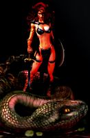 Red Sonja - photoshop by Sulla72