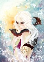 THE TARGARYEN GIRL by iscariotic