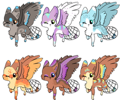 BirdFox Adopts by Magicpawed