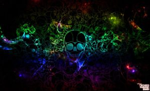 Skull by schizophrenic-brain