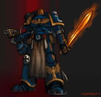 Maldus Space Marine by Nomad-77