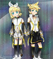 Kagamine Append by Rin-luver