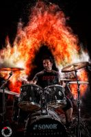 Drumkit From Hell 5 by perixch24