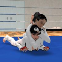 Request: Judo fight 1 by Sorr0wfullWhit3Raven