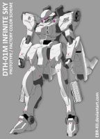 DTH-01M Infinite Sky color scheme #0 by EBR-KII