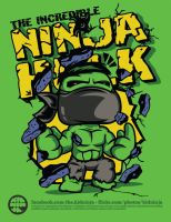 The Incredible Ninja Hulk by supermanisback