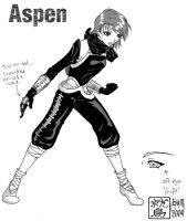 Aspen - second outfit concept by washipuppy