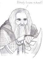 Gimli, son of Gloin by HulderArt
