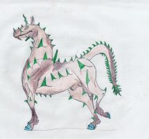 Spikey Stally0001 by BlackMare234