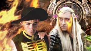 King Thranduil and Roy Walker by Betka