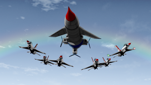 Thunderbirds . . . Air Show? by ShojiAmasawa
