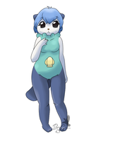 no. 501 Oshawott by pitch-black-crow