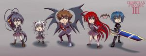 DxD by ChristianStrange3