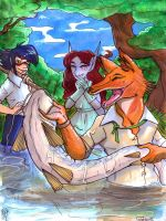 :LC: -16- FISHING by Clytemnon