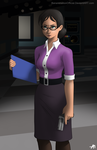 Miss Pauling by BananimationOfficial