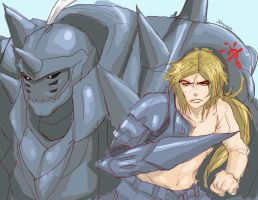 Elric Bros. by Bokuchan