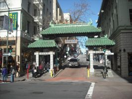 The Entrance to Chinatown by mirengraphics