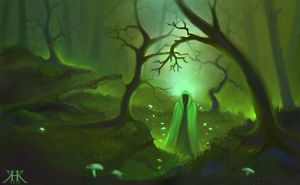 Deep Forest by Paivatar