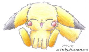 fluffy Pika by Isi-Daddy