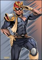 Captain Falcon - Show your moves! by kpetchock