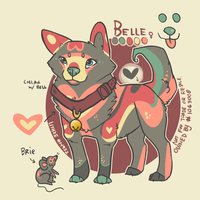 [Pup] Belle by lithxe