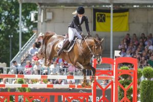 3DE Show Jumping Phase Stock 139 - Fly high by LuDa-Stock