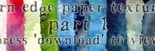Torn-edge paper packet by hibbary