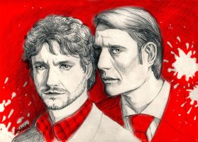 Blood Hannibal by yanhualuan