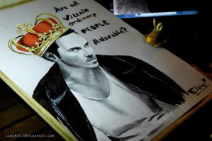 Jim Moriarty by ilmyart