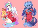 princess for Chinese new year by shepherd0821