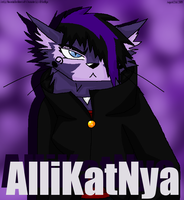 AlliKatNya Fanart by MoonstalkerWerewolf