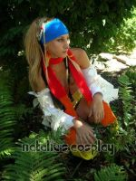 Rikku in the Ferns by Natalie526