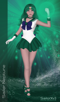 SailorXv3.13 - Sailor Neptune by SailorXv3