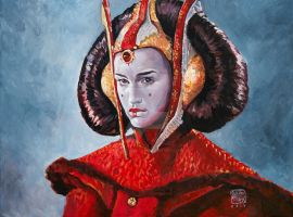 Queen Amidala by MiltonNakata