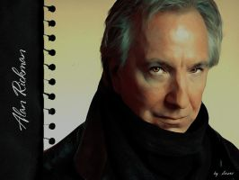 Alan Rickman by SeverArt