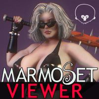 Thuggette: Marmoset Viewer Test by grico316