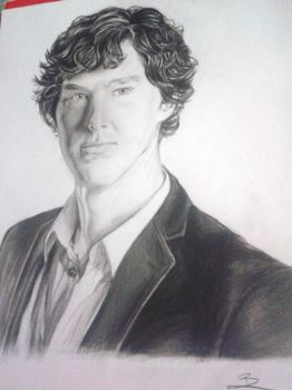 Benedict Cumberbatch by saiYacon-Arts