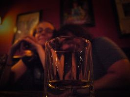 Through the Drinking Glass by dseomn
