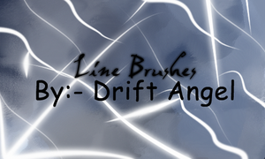 Line Brushes by drift-Angel