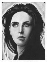Jennifer Connelly by Farallan