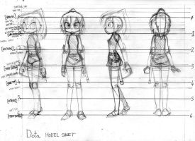 Dota model sheet for a 3D model by Moonlance