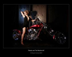 Beauty and the Machine 004 by thebryancrump